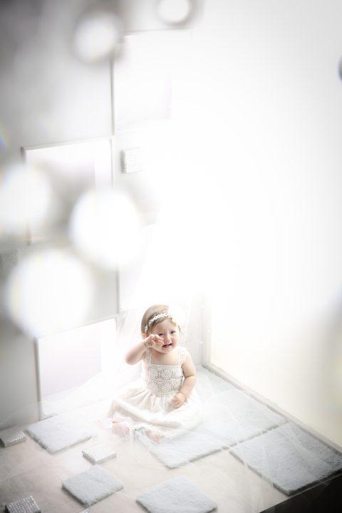 赤ちゃんの今だけを写真に残し、一生の宝物に