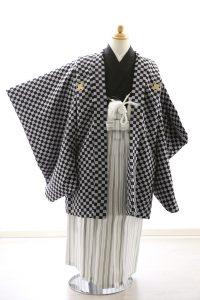 着物ID=CB004 5歳男の子の七五三レンタル専用のお着物です。