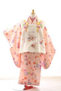 着物ID=CG001 3歳女の子の七五三レンタル専用のお着物です。