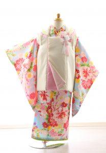 着物ID=CG003 3歳女の子の七五三レンタル専用のお着物です。