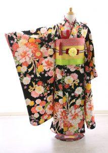 着物ID=CG008 7歳女の子の七五三レンタル専用のお着物です。