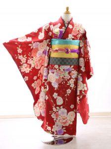 着物ID=CG010 7歳女の子の七五三レンタル専用のお着物です。
